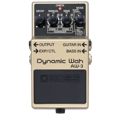 PEDALE EFFETTO PER CHITARRA BOSS AW3 DYNAMIC WAH WAH for sale