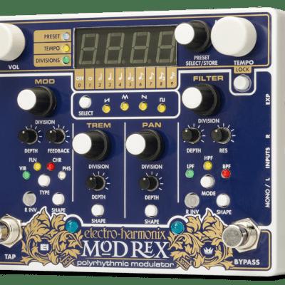 Electro Harmonix Mod Rex Polyrhythmic Modulator