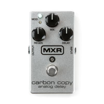 MXR Limited Edition 10th Anniversary Carbon Copy Analog Delay Guitar Effect Pedal for sale