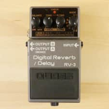 Boss RV-3 Digital Reverb & Delay Combo Pedal - Great Guitar Effects Pedal - VG Cond. W/ Box!