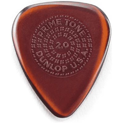 Dunlop 510R20 Primetone Standard Grip 2mm Guitar Picks (12-Pack)