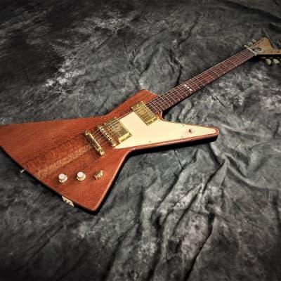 Futura-Sidewinder Explorer Guitar Black Diamond for sale