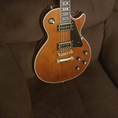 Epiphone Limited Edition Artist Series Lee Malia Signature Les Paul Custom w/ Gibson USA Pickups Natural Walnut Gloss