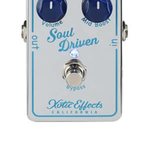 Xotic Effects Soul Driven Boost pedal for sale