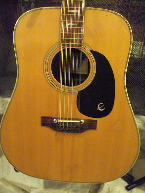 Vintage Epiphone Gibson Texan 1960s Early 70 S 12