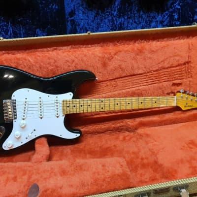 Fujigen History Stratocaster Black Strat SSS Electric Guitar for sale