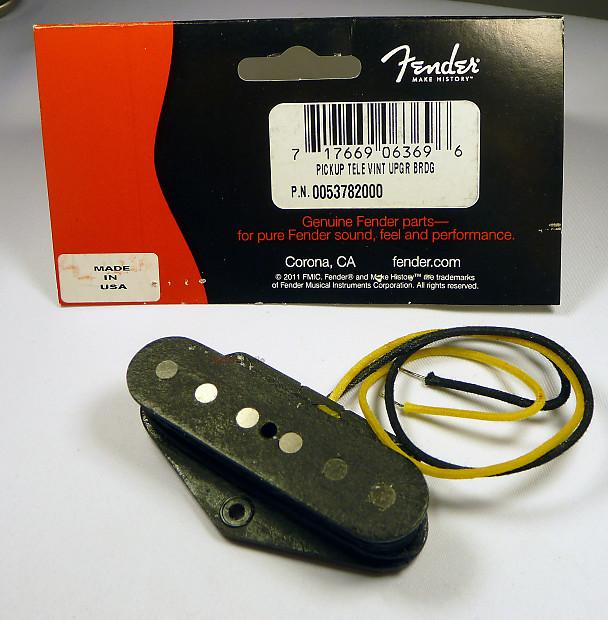 genuine fender vintage upgrade reissue 39 52 ri telecaster reverb. Black Bedroom Furniture Sets. Home Design Ideas