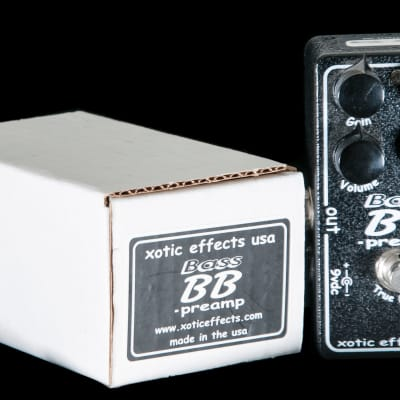 Xotic Effects Bass BB Preamp Pedal for sale