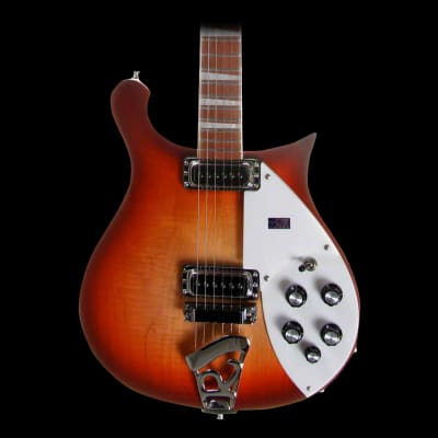 Rickenbacker 620 Electric Guitar in Fireglo with Case
