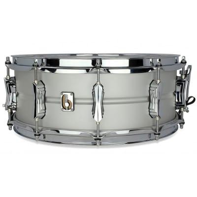 "British Drum Company Aviator 14x5.5"" 10-Lug Seamless Aluminum Snare Drum"