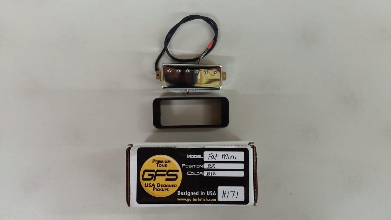 GFS Fat Mini Humbucker 12K Alnico 5 Bridge Guitar Pickup / | Reverb