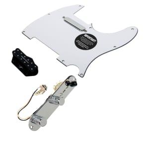 920D Custom Shop 11208-33+T4W-WH Seymour Duncan Little 59/Vintage Stack Loaded Tele Pickguard w/ 4-Way Switching