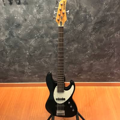Hamer 5 String Cruise Black Gloss Bass Guitar for sale