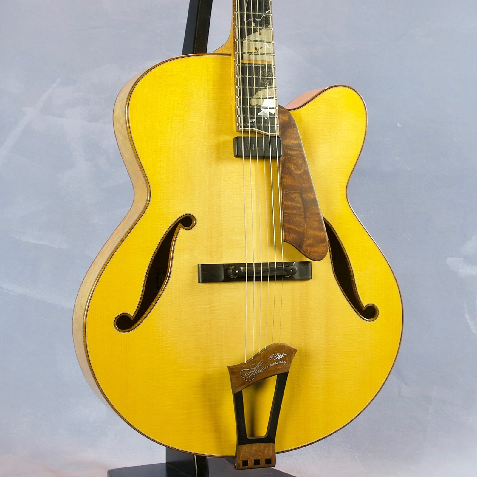 """Ribbecke 40th Anniversary 18"""" Archtop 2013"""