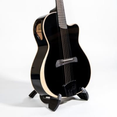 Batson BG-R The Black Raven w/ Hard-Shell Case, Clear Voice Piezo UST, New, Free Shipping for sale