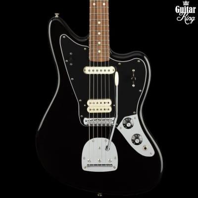 Fender player Jaguar black pao ferro fingerboard