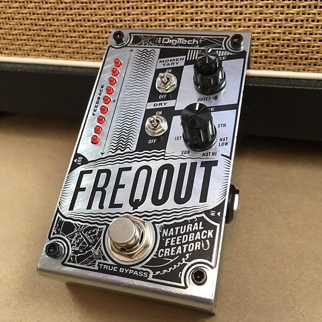 digitech freqout natural feedback creator guitar pedal stomp reverb. Black Bedroom Furniture Sets. Home Design Ideas