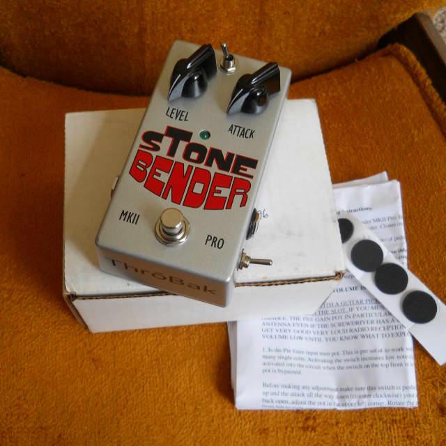 Throbak Stone Bender Tone Bender MKII Fuzz Pedal, Store Display, Original Packaging! image
