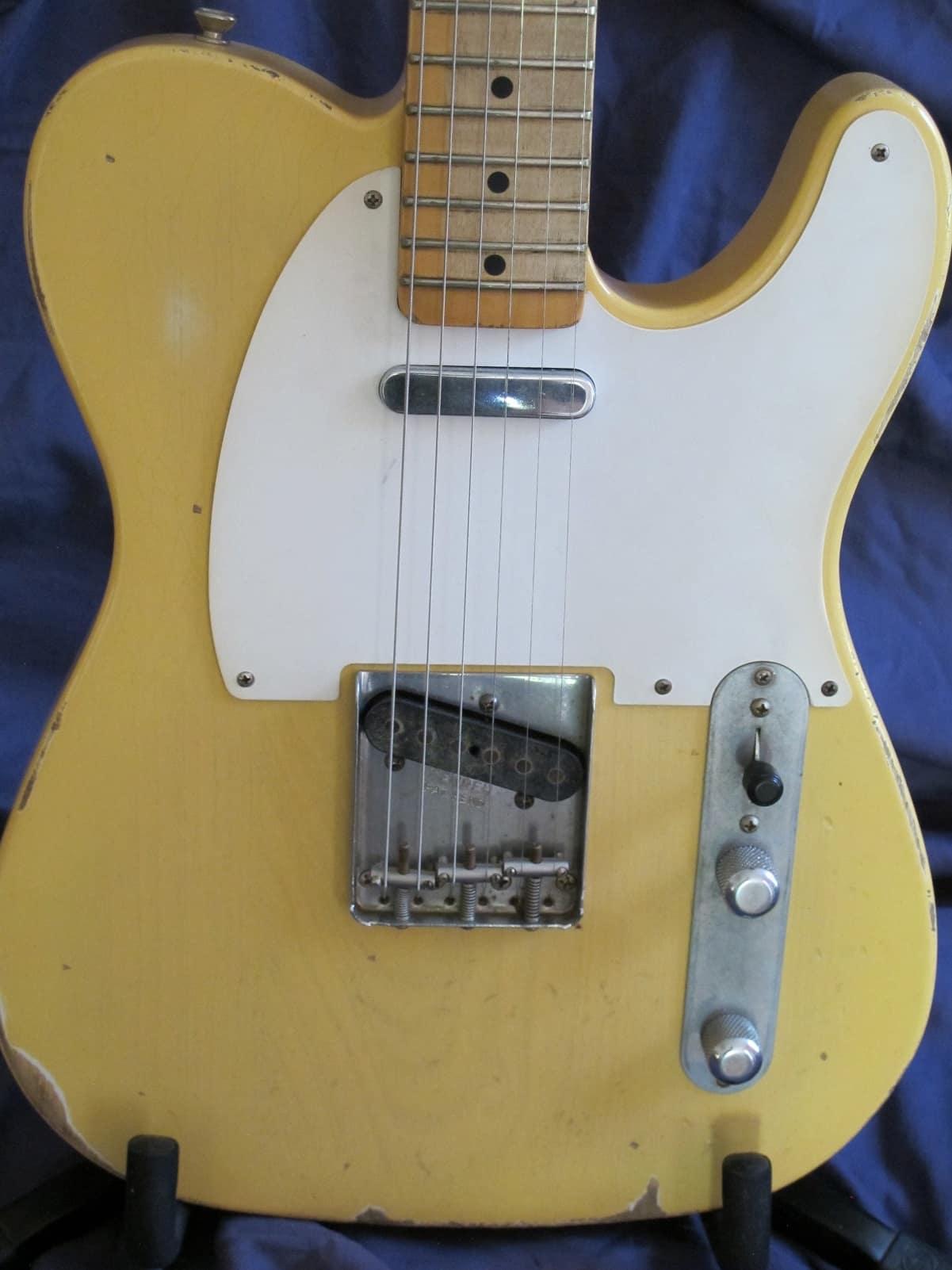 Vintage Fender Lights : Fender roadworn telecaster vintage blonde light wt