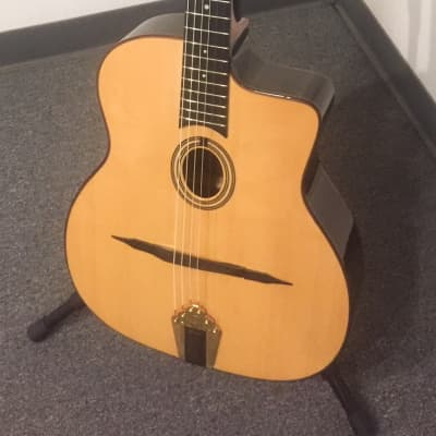 Altamira M01 Natural Gypsy Jazz Guitar for sale