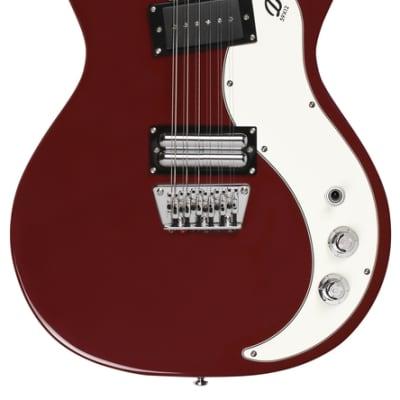Danelectro '59X 12 String Guitar ~ Blood Red