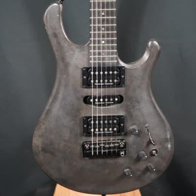 Eklein/Flaxwood Steam Punk Electric Guitar w/Piezo for sale