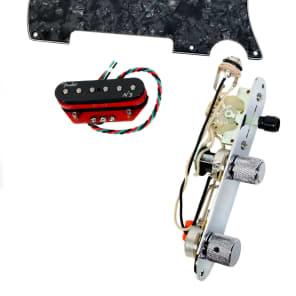 920D Custom Shop 19-29-34-21 Fender N3 Noiseless Loaded Tele Pickguard w/ 3-Way Switching
