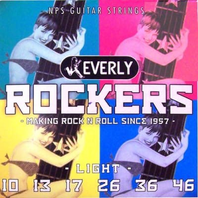 Everly Rockers Electric Guitar Strings - Light - 9010 - 10-46 - 1 Pack - 1 Pack for sale