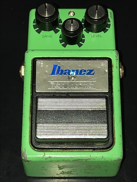 1995 Ibanez TS9 Reissue w TS-808 mods and upgraded caps
