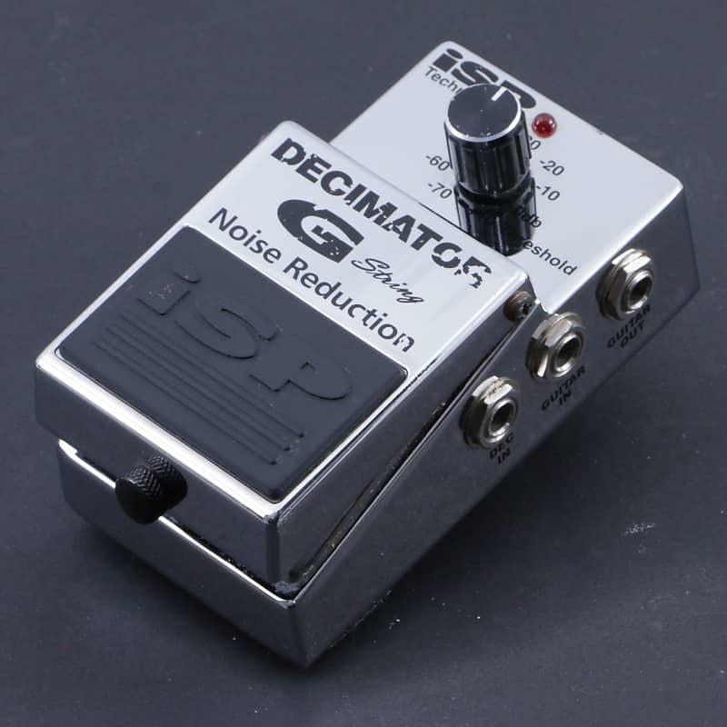 isp decimator g string noise gate guitar effects pedal reverb. Black Bedroom Furniture Sets. Home Design Ideas