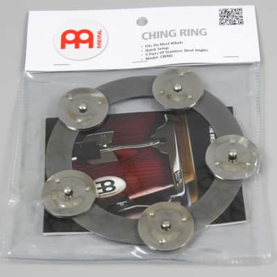 "Meinl Ching Ring 6"" Stainless Steel Jingles"