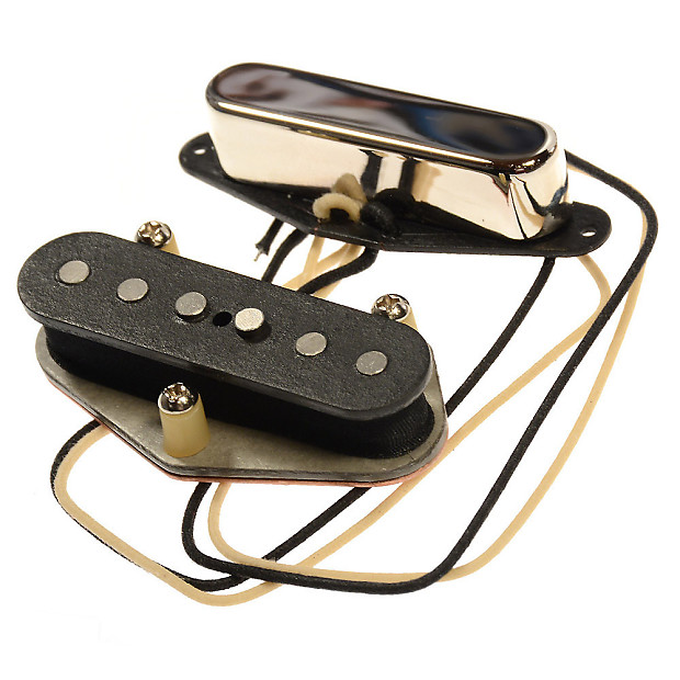 bare knuckle brown sugar tele single coil pickup set nickel reverb. Black Bedroom Furniture Sets. Home Design Ideas
