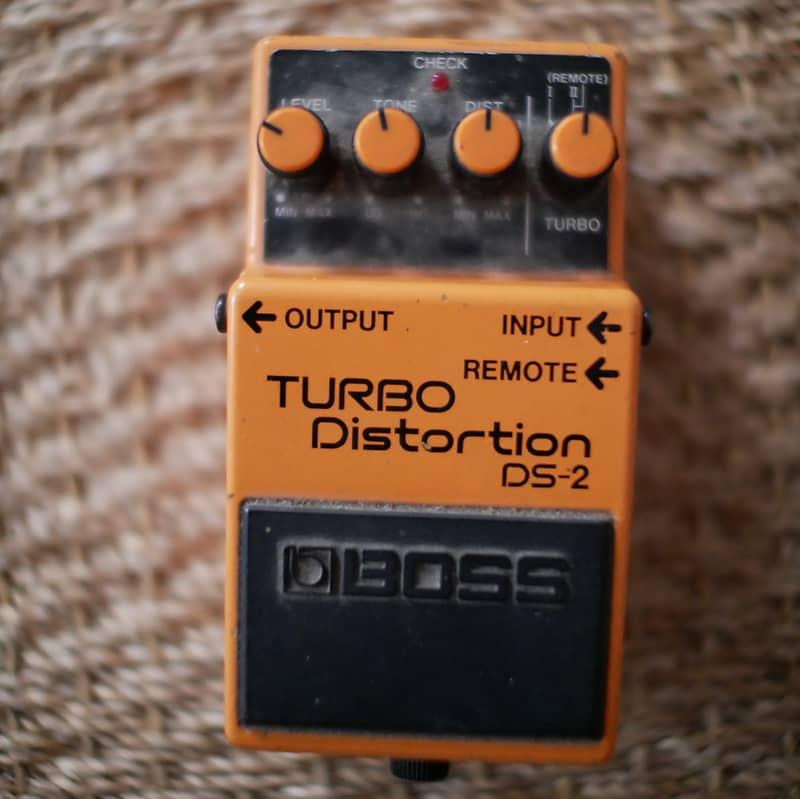 boss ds 2 turbo distortion pedal denis vintage shop reverb. Black Bedroom Furniture Sets. Home Design Ideas