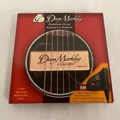 Dean Markley 3011 ProMag XM Single Coil Acoustic Sound Hole Pickup for sale