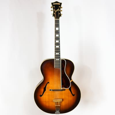 D'Angelico 1938 Style A-1 Sunburst SN# 1369 with Hardshell Case for sale