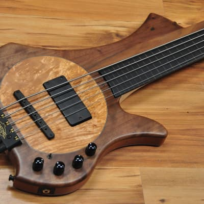 Bassline Worp Fretless 5 for sale