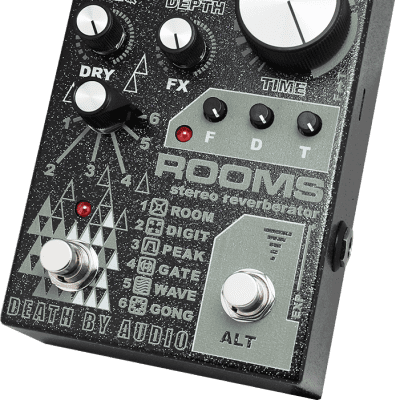 Death By Audio ROOMS Stereo Reverberator - Pre order!
