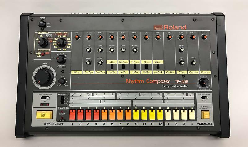 roland tr 808 vintage analog drum machine cleaned tested reverb. Black Bedroom Furniture Sets. Home Design Ideas