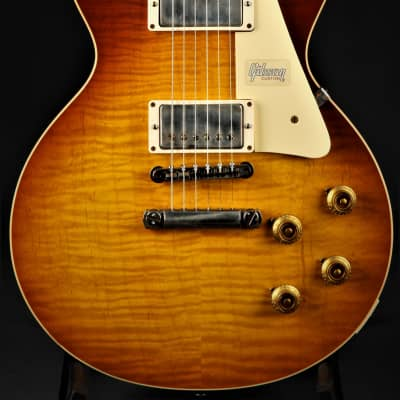 Gibson Custom Shop 60th Anniversary '59 Les Paul Standard VOS - Slow Ice Tea Fade