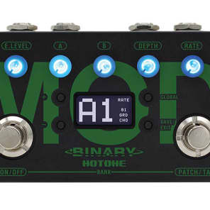 Hotone Binary Mod CDCM Modulation Effects Pedal 888506100048 for sale
