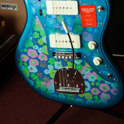 Fender Fender Jazzmaster 2018 Blue Flower 2018 Custom Graphic for sale