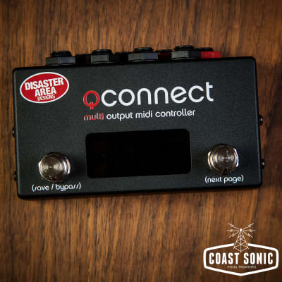 Disaster Area Designs qCONNECT Quarter-Inch MIDI Interface and Controller