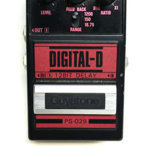 Guyatone PS-029, Digital Delay, 12 BIT, Guitar Effect Pedal, Made In Japan, 80's for sale