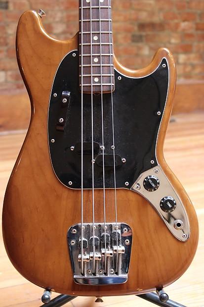 Fender Mustang Bass 1978 Mocha Brown | Reverb  Fender Mustang ...