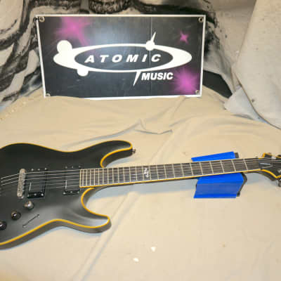 Schecter Diamond Series Blackjack ATX C-1 C1 Black Satin Guitar 2012 for sale