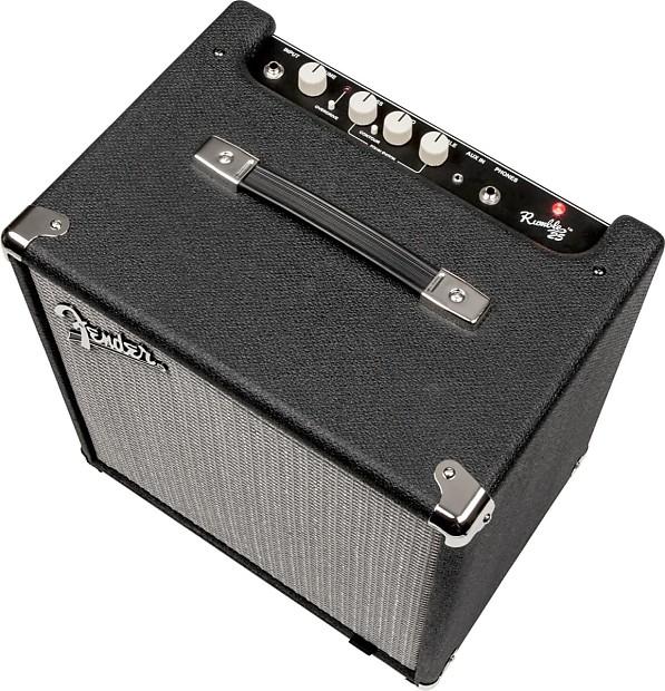 fender rumble 25 v3 bass combo amplifier 25 watts reverb. Black Bedroom Furniture Sets. Home Design Ideas
