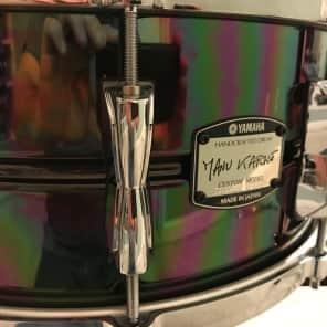 "Yamaha SD-465AMK Manu Katche 6.5x14"" Brass Snare Drum"