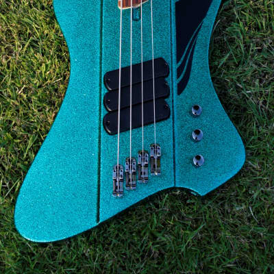 Dingwall D-Roc Standard 4-String -  Aquamarine Metalflake for sale