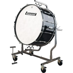 """Ludwig LECB36M8GWF 16x36"""" Mounted Concert Bass Drum for LE788 Stand"""