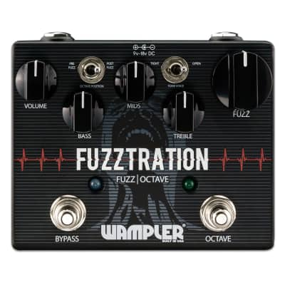Wampler FUZZTRATION Fuzz and Octave Pedal